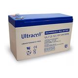 Bateria Gel 12v 7ah Recargable Alarma Ups Emergencia Ultrace