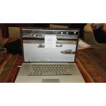 Lote Macbook Pro Cd C2d Aluminio 15 Escucho Propuestas