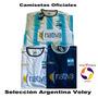 Camisetas Selección Argentina De Voley Olympikus.