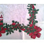 Mantel Navideño, Mantel De Navidad Usado Manchitas