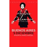 Entradas Andres Calamaro Buenos Aires Arena 5/12.