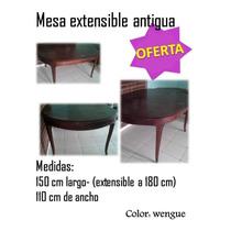 Mesa Extensible Antigua Comedor Extensible Madera Mueble En Venta En