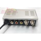 Modulador Convertidor Rca A Rf Salida Tv Canal 3/4 A 220v