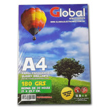 Papel A4 Fotografico Glossy Candy Bar 180gr X20 Hojas