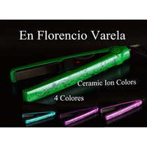 Planchita De Pelo Gama Ceramic Ion Colors Limited Edition