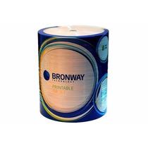 Cd-r Bronway Printable Inkjet Full Print Bulk X100u