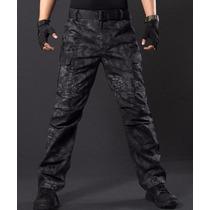 Pantalon Tactica Camuflado Cryptek Rip Stop 3d
