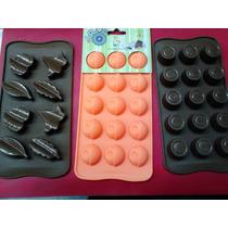 Molde Silicona Bombones Jabones Chocolate Muffins
