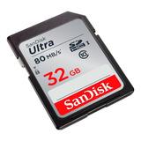 Tarjeta De Memoria Sandisk Sdsdunc-032g-gn6in Ultra 32gb
