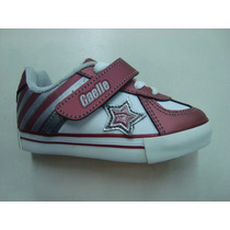Zapatillas Gaelle Cuero Skate Bebe Niños Nº21 Al 26