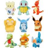 Peluches Pokemon Go 20 Cm Varios Modelos Pikachu Pokemones