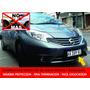 Protector De Patente Y Paragolpes Nissan Note