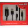 Cable Adaptador Mhl Microusb A Hdmi Para Celulares & Tablets