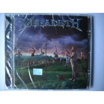 Megadeth Youthanasia Cd +bonus. Mas Megadeth, Metallica.