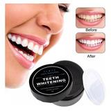 Blanqueador Dental Miracle Teeth Carbon Coco Natural No Daña
