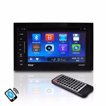 Pldn65bt - Pyle Autoestéreo Doble Din 6.5 Bluetooth Touch