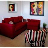 Sofa Living Sillon Esquinero Chenille Antidesgarro + Matera