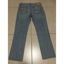 Combo Jean Abercrombie & Fitch + Remera A&f - Talle 34 Y L