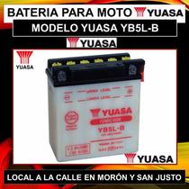 Bateria Yuasa Yb5l-b Motos 110 Smash Wave Crypton! C/liquido