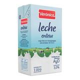 Leche Veronica Uat Entera 1 Lt X Unidad