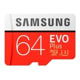 Tarjeta De Memoria Samsung Mb-mc64ga/apc Evo Plus 64gb
