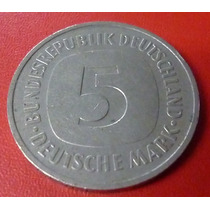 Alemania Moneda 5 Deutschemark 1975 Xf