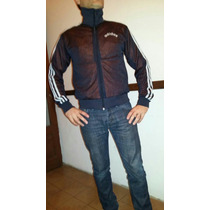 Campera Adidas Reversible Tela Microperforada Talle M