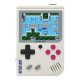 Consola Level Up Retroboy 8gb Blanca