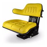 Butaca Para Tractor Universal Asiento Agricola Amarilla
