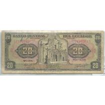 Ecuador 20 Sucres 1978