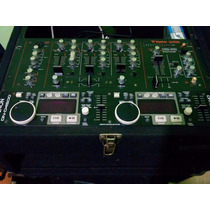 Denon 4500 Impecable+mixer Vestax Vsm-360