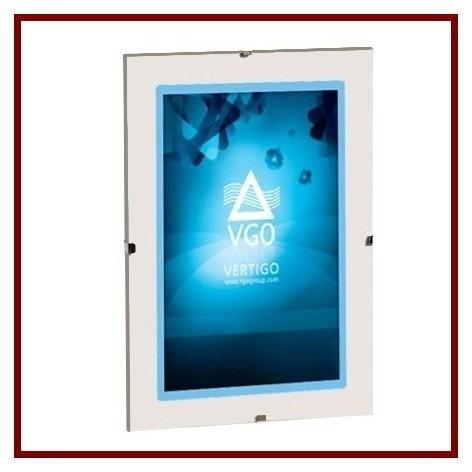 Portaretrato Clip 20x30 (apto A4) Vidrio Sin Marco Pack X10 - $ 700 ...