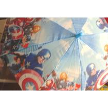 Paraguas Infantiles Peppa Pig, Hombre Araña, Avengers,frozen