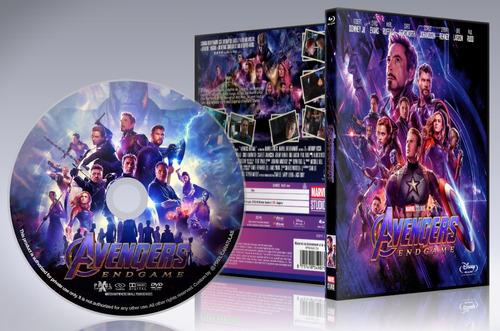 Vengadores - End Game - Dvd Latino/ingles Hd Maxima Calidad