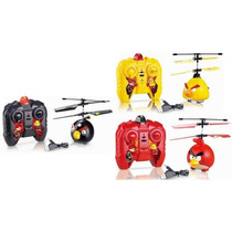 Angry Birds Mini Helicoptero Rc Radio Control Quilmes-once