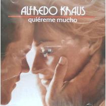 Alfredo Kraus Cd Quiereme Mucho Descatalogado De Coleccion