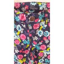 Pantalon Jegging Stretch Floral 4t Childrens Place Envio Gra