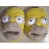 Pantuflas De Homero Simpson. Talles 29 Al 44