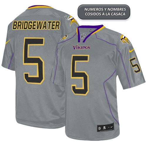 0386fe329b428 Camiseta Nfl Minnesota Vikings Bridgewater Talle S Limited