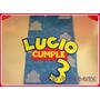 Toy Story Cartel Y Fondo De Mesa Nombre Cumpleaños Candy Bar