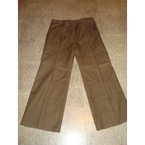 Retro Vintage Años 70 Pantalon Oxford De Hombre Talle 50