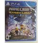 Minecraft Story Mode Ps4 Fisico Nuevo Sellado Playstation 4