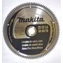 Hoja De Sierra Makita 19788 Para Aluminio 255mm 100 Dientes
