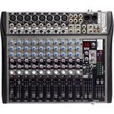 Consola De Sonido Sound Xtreme Sxm512 12 Canales Estudio Fx
