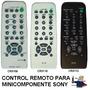 Control Remoto Rm-sr100 Para Minicomponente Y Audio Sony