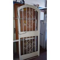 Puerta Colinial Chapa 1/4 Punto 80x200