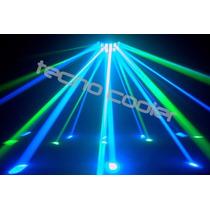 Efecto Leds Doble Derby Rgbw Dmx Audioritmico Tecno Cooler