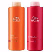 Shampoo Wella X1000 Enrich (nutritivo) /brilliance (tintura)