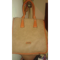 Cartera Xl Extra Large Beige