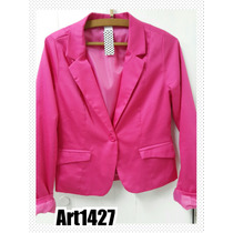 Blazer -saco De Vestir Mujer Hermosos Talle 1 2 3 4 5